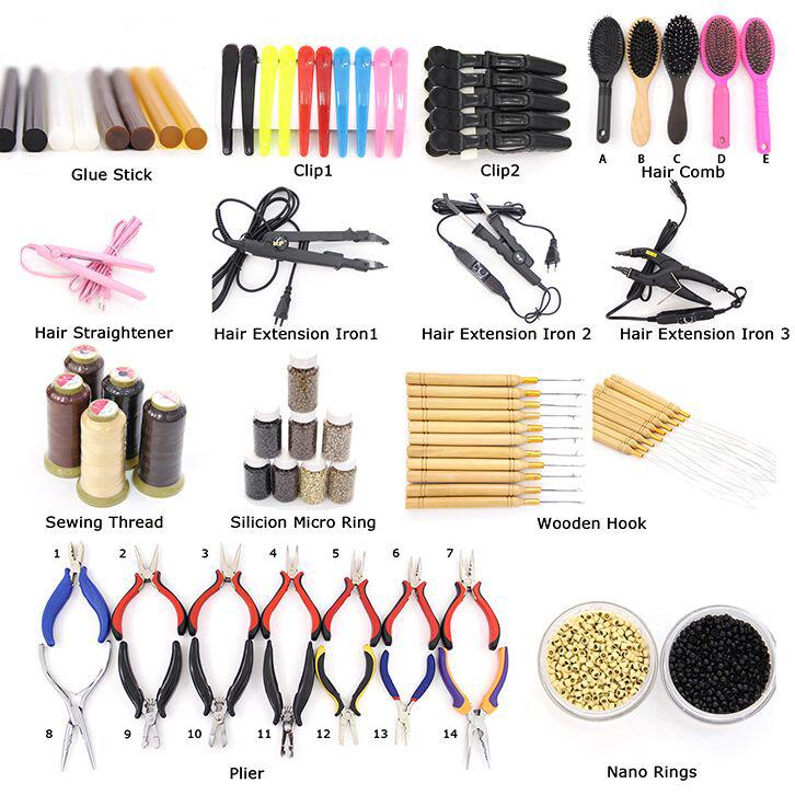 verschiedene Farben hohe Rückkopplung Haarspinnfaden