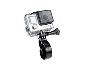 Compatible with QUMOX F21 Silver Action Sport Cam Cam DURAGADGET Adjustable Wrist Strap Mount