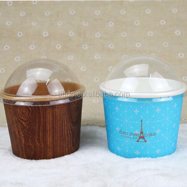 printed ice cream containers/paper bowl/ paper ice cream cup with lid