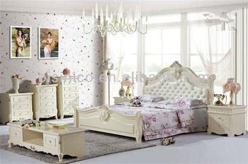 Contemporary Timber Bed,Korea Girl\'s Bedroom Furniture Bed Wood Frame,Light  Violet Design Bedroom Set Furniture - Buy European High End Solid Wood ...