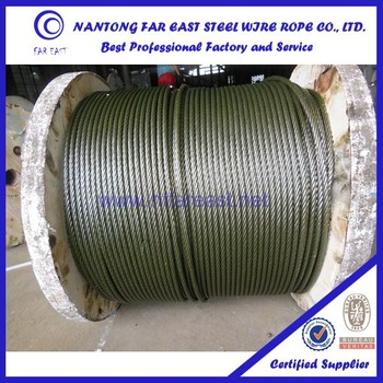 Trade Assurande 6*19w+iwr Wire Rope Lubricant With Yellow Grease For ...