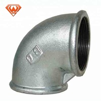 Hot Dip GI Galvanized Malleable Iron Pipe Fittings