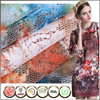 Best seller IAF certified Poly Textile printed lace fabric