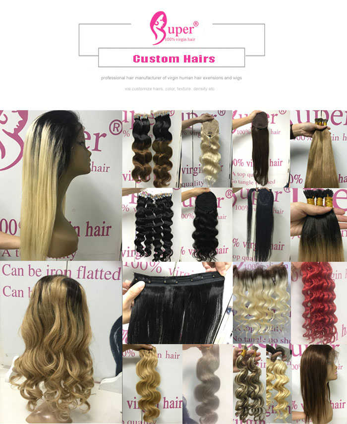 Super Double Drawn Swiss Lace Frontal Transparent With Ear To Ear Natural Color Hair Extension