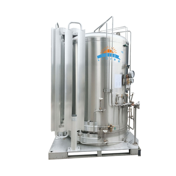 Micro Bulk Systems Liquid cryogenic hydrogen gas tanks