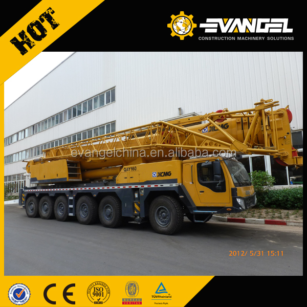 Famous QY50K truck crane 50 ton knuckle boom truck mounted crane
