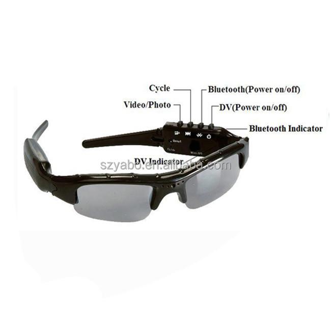 cf8d47a967 High quality 720p mini hidden camera sunglasses bluetooth video recorder sunglasses  camera for mobile phone