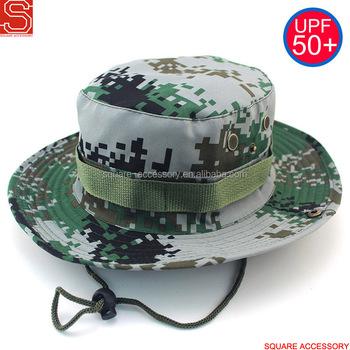 Digital Camo Fisherman Hunting Mesh Bucket Hat Fishing Sun Roll Up Brim  Safari Vented Bucket Hat 7d0033edfab