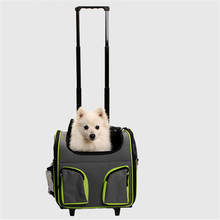 Rolling Cat Pet trolley cage with wheels