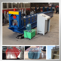Water gutter roll forming machine cold bend roll forming equipment