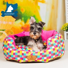 2017 New Pet Products Super Softy Colorful Luxury Designer Pet Dog Beds With Non-slip Bottom