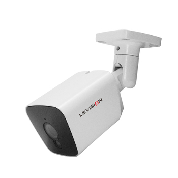 LS VISION H.265 Full Color Night Vision Starlight Security Equipment Starvis CCTV 2MP 1080P Audio POE Onvif 2.6 Danale IP Camera