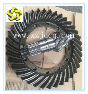 Engineering machinery loader drive axle Spiral bevel gear 6:37 7:37