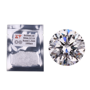 Perfect machine cut cubic zirconia/fake diamond/alibaba beads
