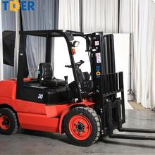customized color 1.5 ton - 3 ton hydraulic small diesel forklift price with 2 stage mast