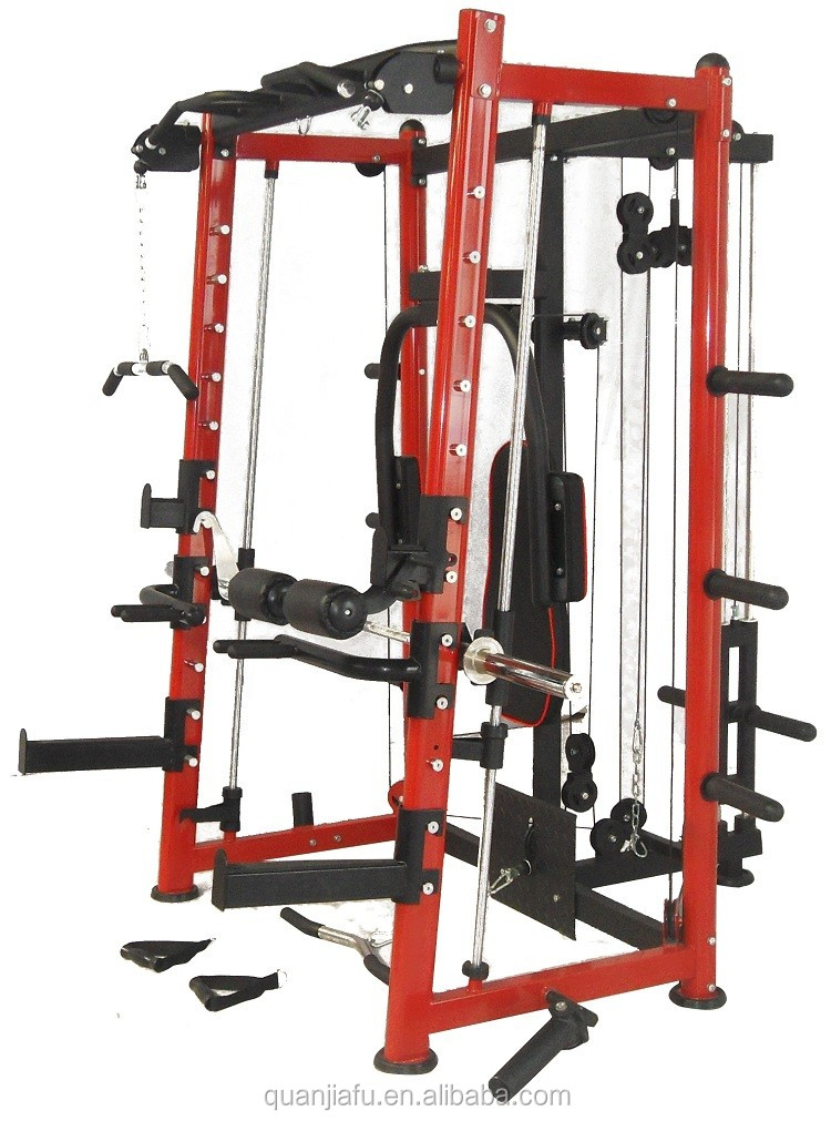 home fitness equipment multifunction Smith machine indoor exercise