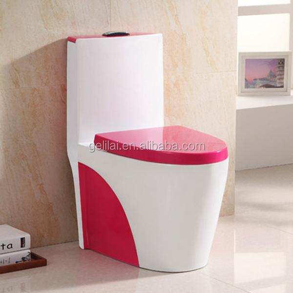 Siphonic een stuk wc keramische kleur wc luxe badkamer wc toiletten product id 60576886538 dutch - Kleur wc ...