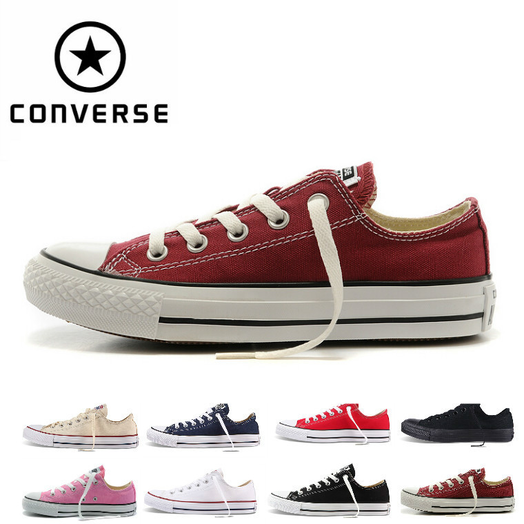 Free shipping fashion Men Women Casual Canvas Converse All Stares canvas  shoes low high style Lovers  classic Canvas Shoes 7ecb42e1a