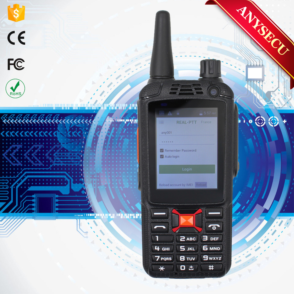 ANYSECU G22plus GSM850/900/1800/1900/2100MHz GPS real PTT phone transceiver