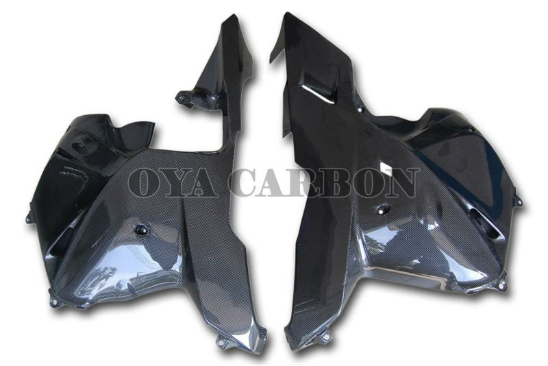 Carbon fiber Side Fairings for cbr600rr 2009