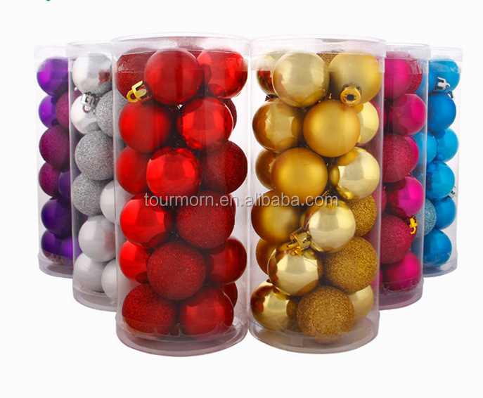 Good quality Chrismas plastic ball,best inside painting Christmas ballristmas decorations