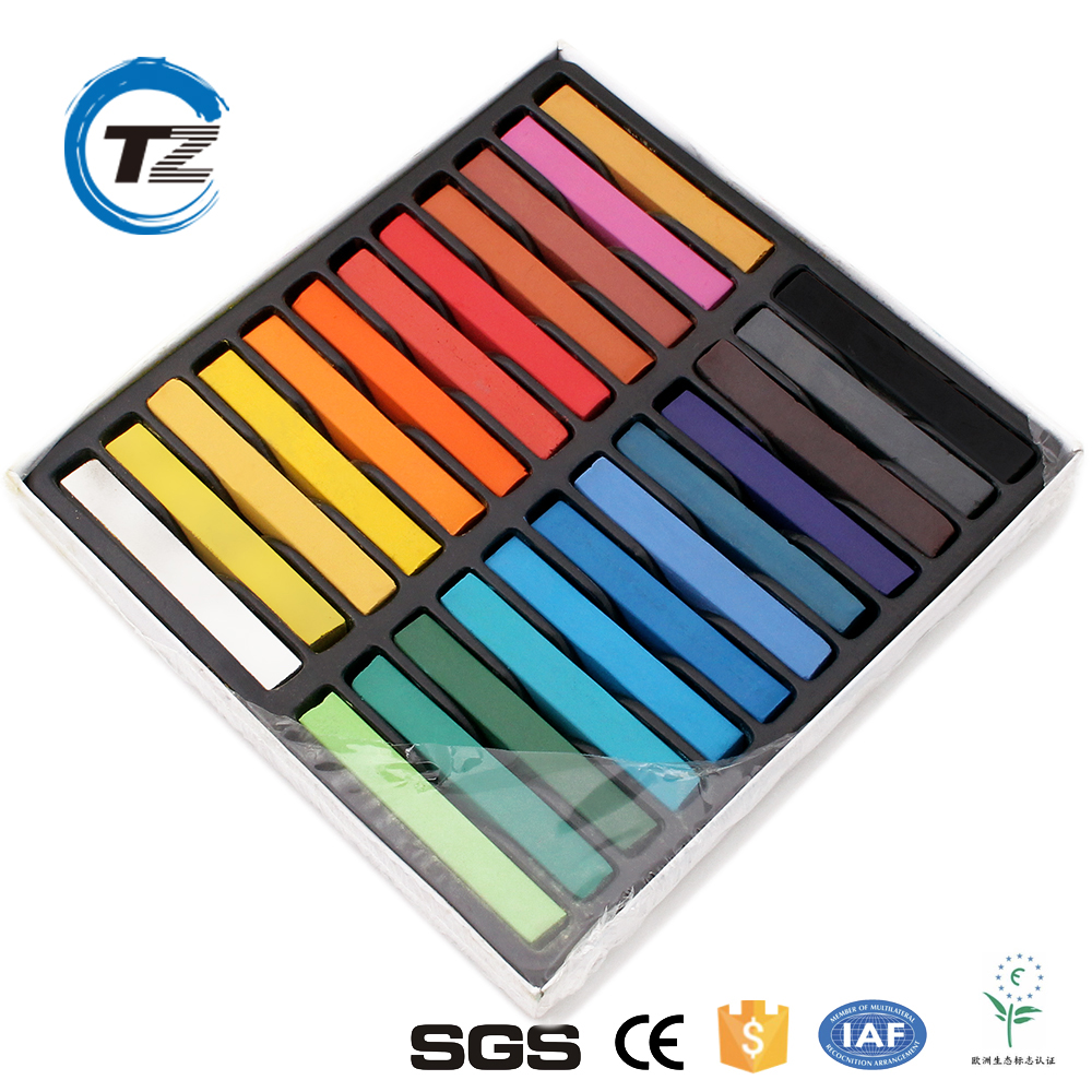Wholesale Art School Painting Drawing Crayons 24 colour Soft Oil Pastels