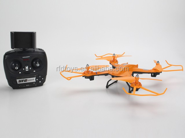 4-Axis RC Drone dengan 2MP Kamera Terbang RC Quadcopter Dronecamera UAV RTF UFO dengan 2mp HD Camera