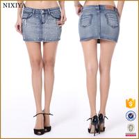 Mini Ladies Short Jeans Skirt Jean Skirt Short Skirt Jeans