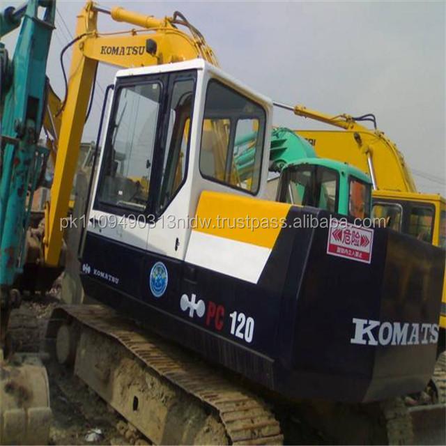 Used Komatsu PC120-5 /PC200-5 Excavator, Used Komatsu 120 Excavator for sale