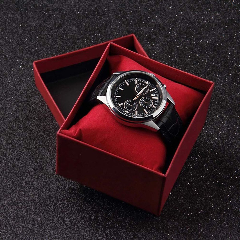 black luxury watch packaging box men/women watch box