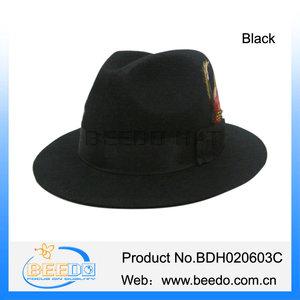 82a15902bb0 Black Fashion Jewish Hat