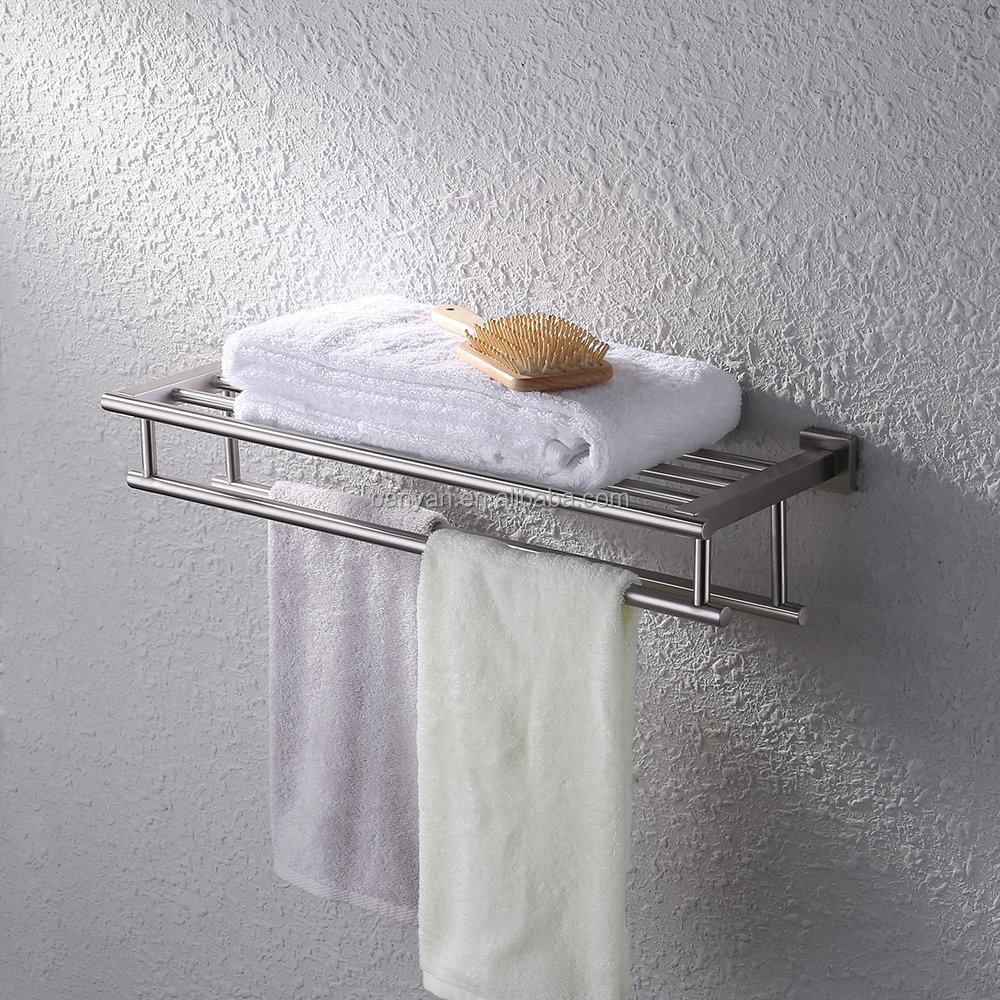 shelves mounted towel washing item rack shampoo shelf shower bathroom basket layer in bar home holder three from accessories wall