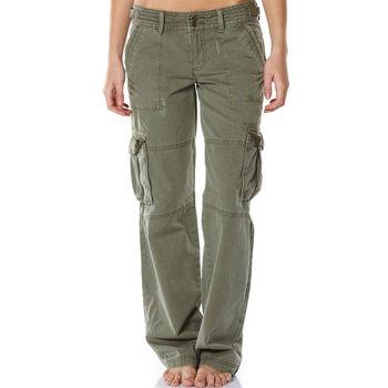 Women Cargo Pants Burnt Olive With Pocket - Buy Women Cargo ... f6b2667398