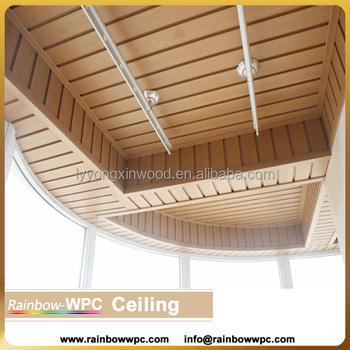 interior wood plastic wall panel pvc ceiling cladding wpc wood plastic laminate wall panels for
