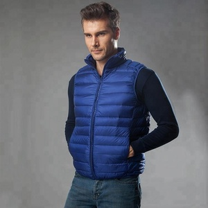 2018 Direct Factory Lowest Wholesale Prices Winter Down Vest For men