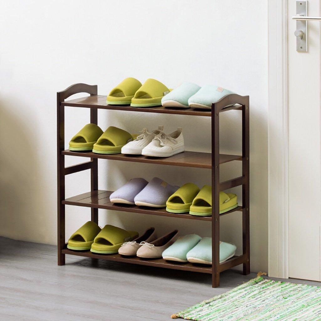 Get Quotations · Rack Shelf Shelf Multilayer Shoe Rack Solid Wood Shoe  Storage Rack Multifunctional Rack Shelf Shoes Shelf