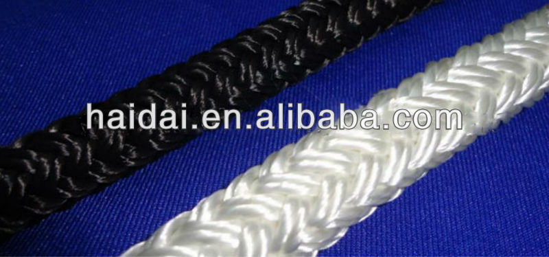 8 mm polyester flat rope for wholesale
