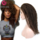Wholesale Virgin Brazilian Hair Kinky Twist Braided Full Lace Human Hair Wig