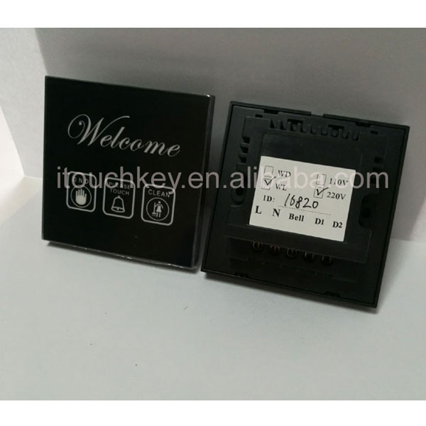 Touchkey touch screen smart wall switches newest wifi wireless type