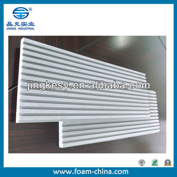 custom size cheap waterproof closed cell eva foam groove sheet