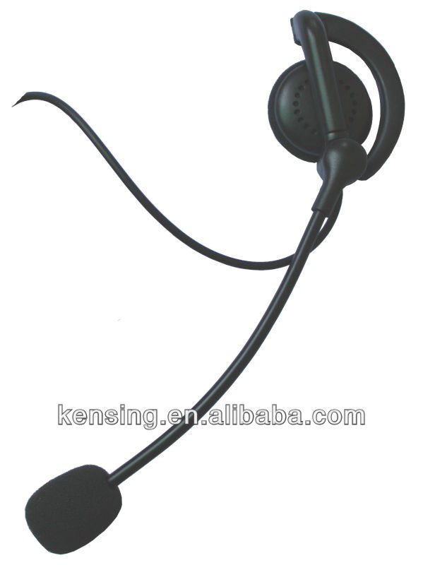 microphone integrated radio headset
