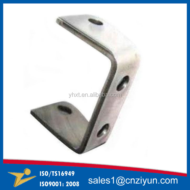 OEM Steel stamping angle mounting U shaped Metal bracket