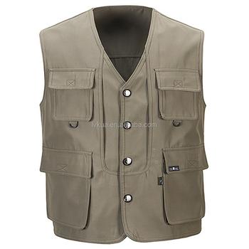 dc879378141d6 Лидер продаж летние мужские Военный стиль Фотограф Жилет двойной одежда  дизайн открытый куртки без рукавов