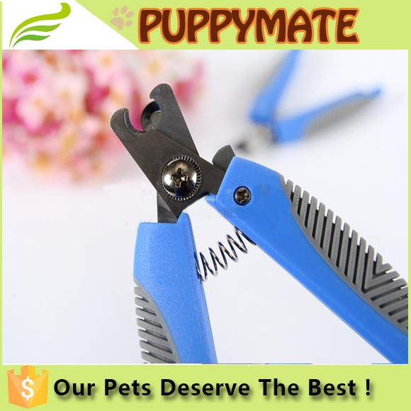 Hot-sale Pofessional Dog grooming scissors, dog cat nail cutting usual care nail clipper cortaunas