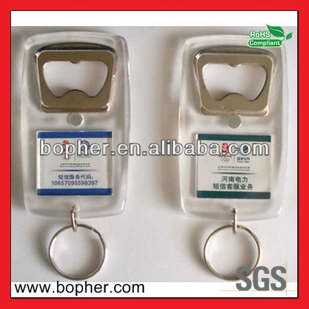 mini fashional crystal bottle opener