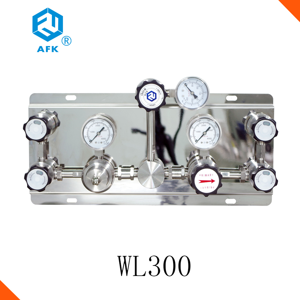 Stainless Steel Semi Automatic Changeover Switch Oxygen Pressure Regulator
