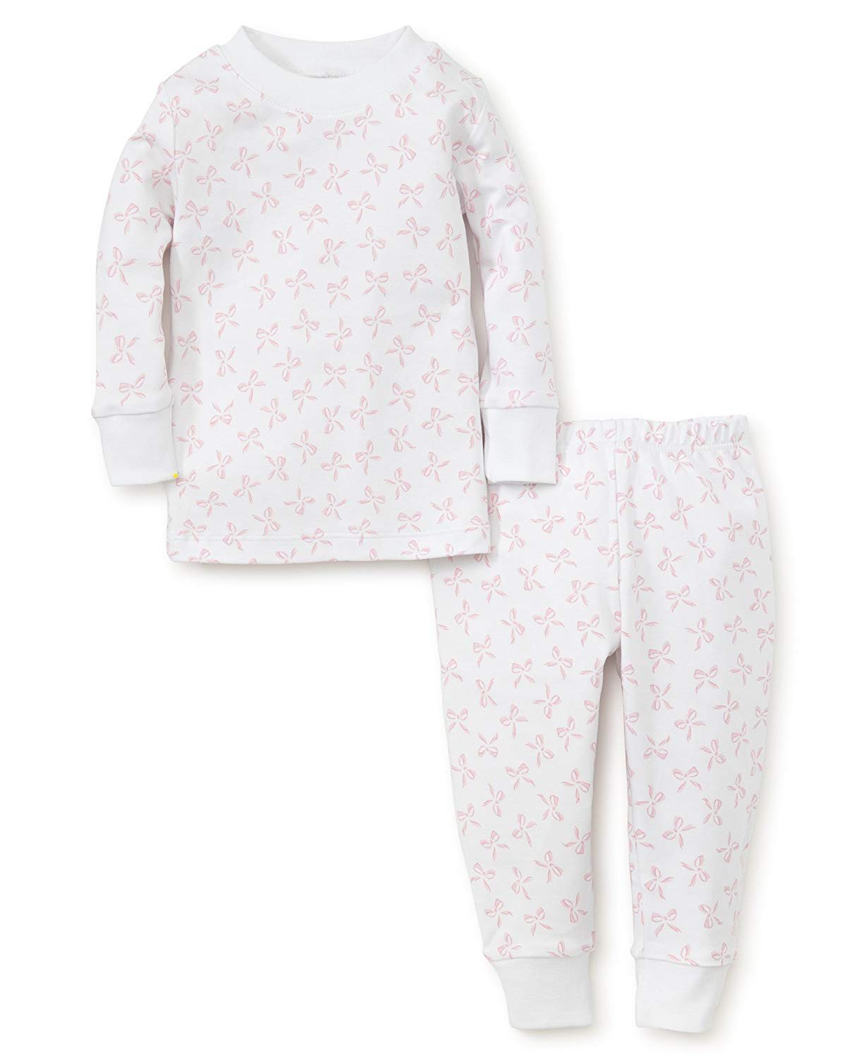 98aa6cfdc Get Quotations · Kissy Kissy Baby-Girls Infant Bunches of Bows Print Long  Pajamas Set