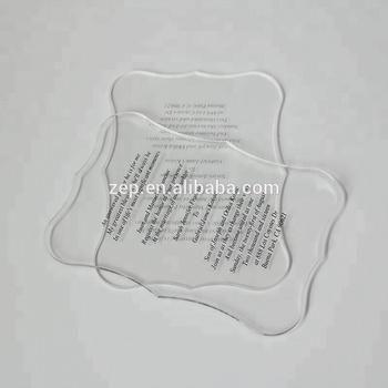 Transparent Wedding Invitation Cards Wholesale Acrylic Invitation ...