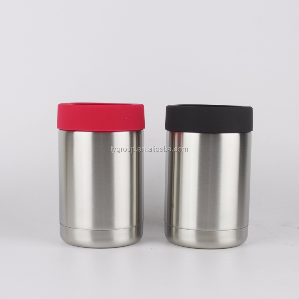 New Product 12oz CAN & BOTTLE Insulator,Stainless Steel Double Wall Vacuum Insulated Thermos Beverage Cooler