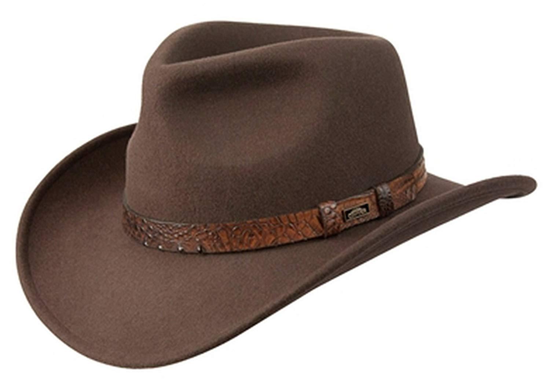 bf4eee192e8 Conner Hats Outback Crushable Waterproof Australian Wool Western Cowboy Hat